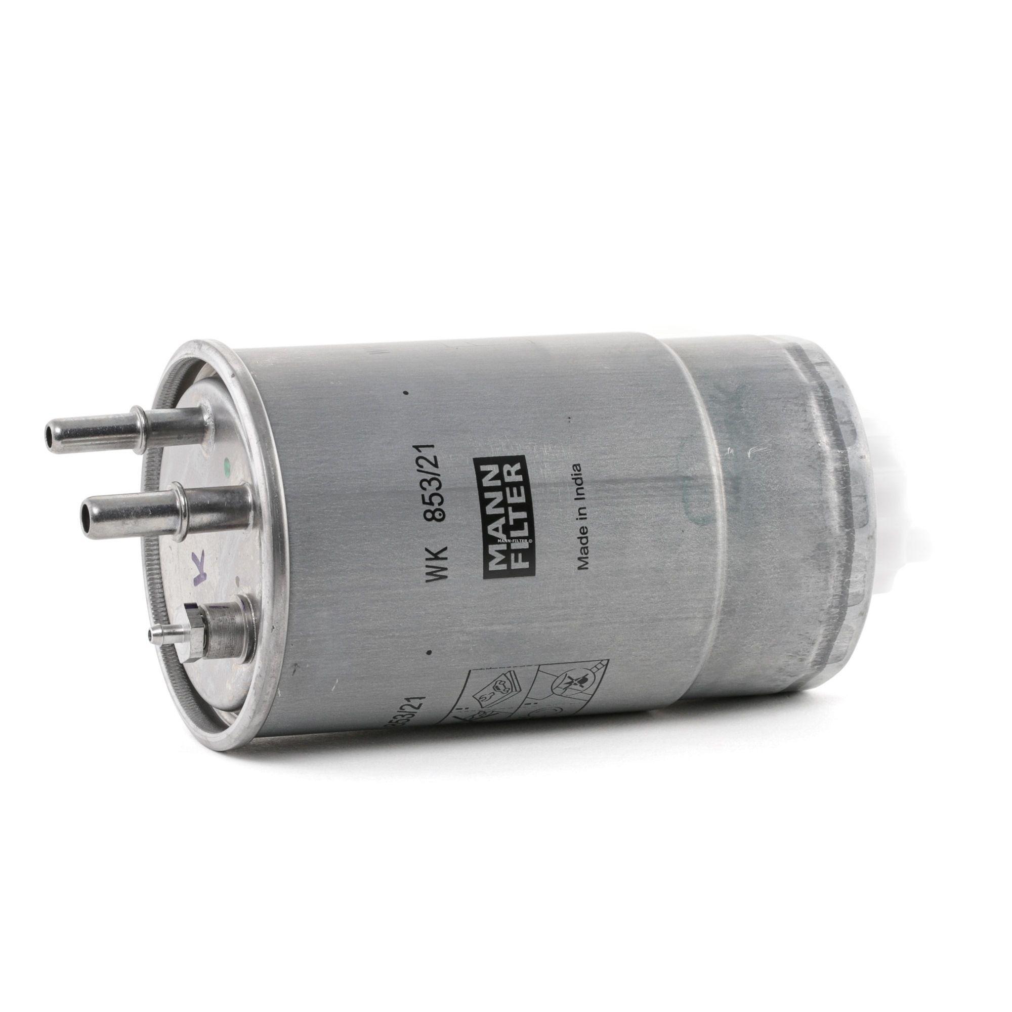 Filtro combustible MANN-FILTER WK 853/21 evaluación