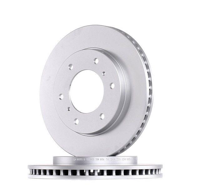 BOSCH 0986479704 Disc brake set