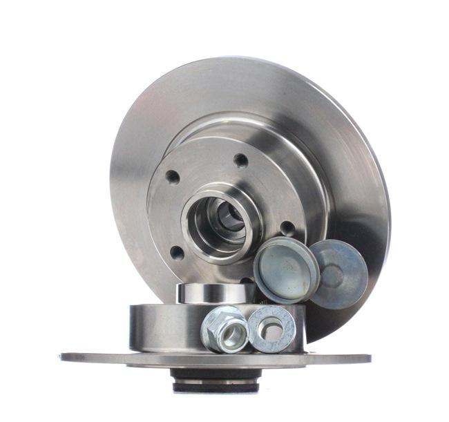 SNR Bremsscheiben Voll, mit integriertem Radlager, mit integriertem magnetischen Sensorring