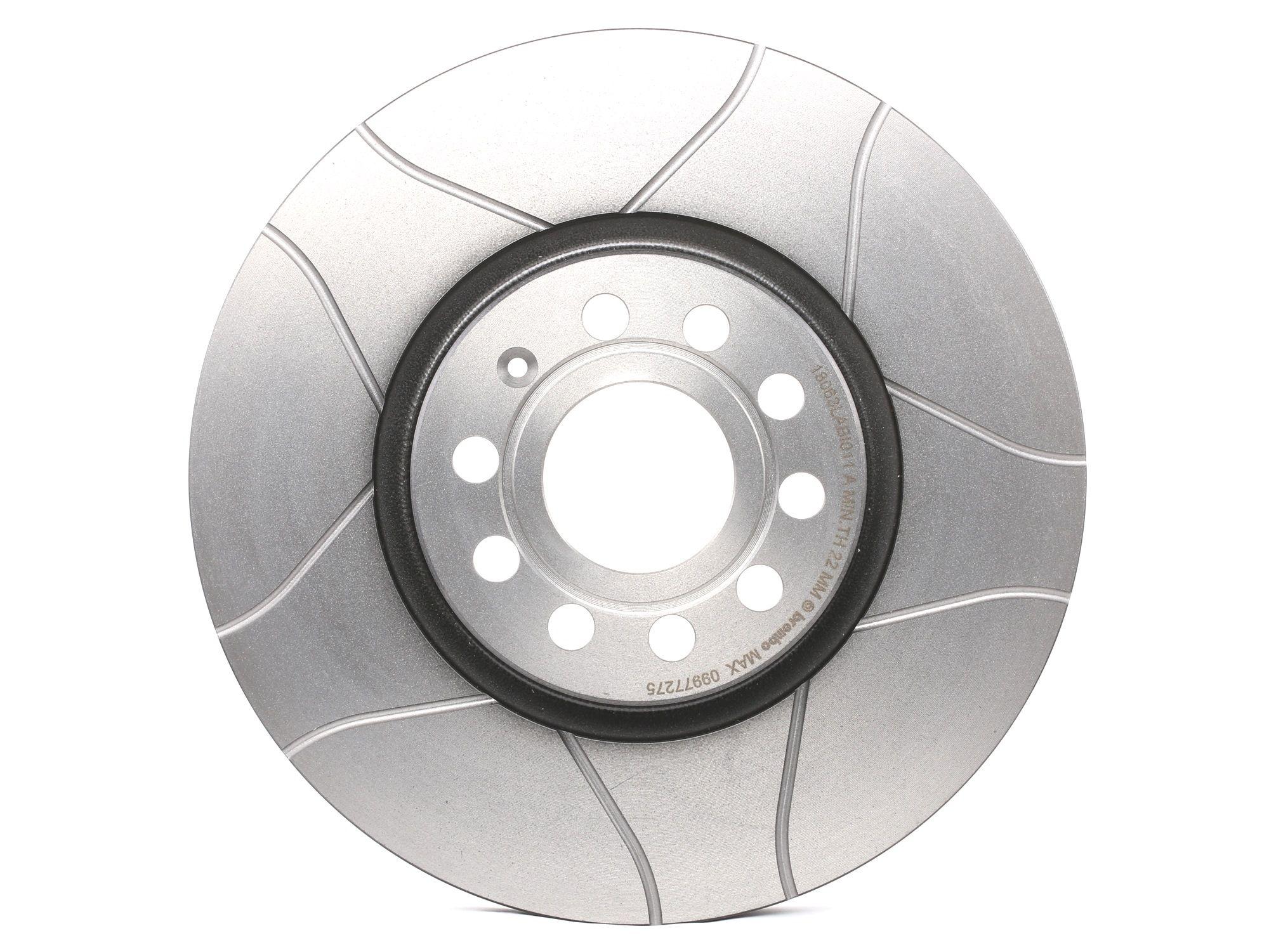 Brake Rotors BREMBO 09.9772.75 rating