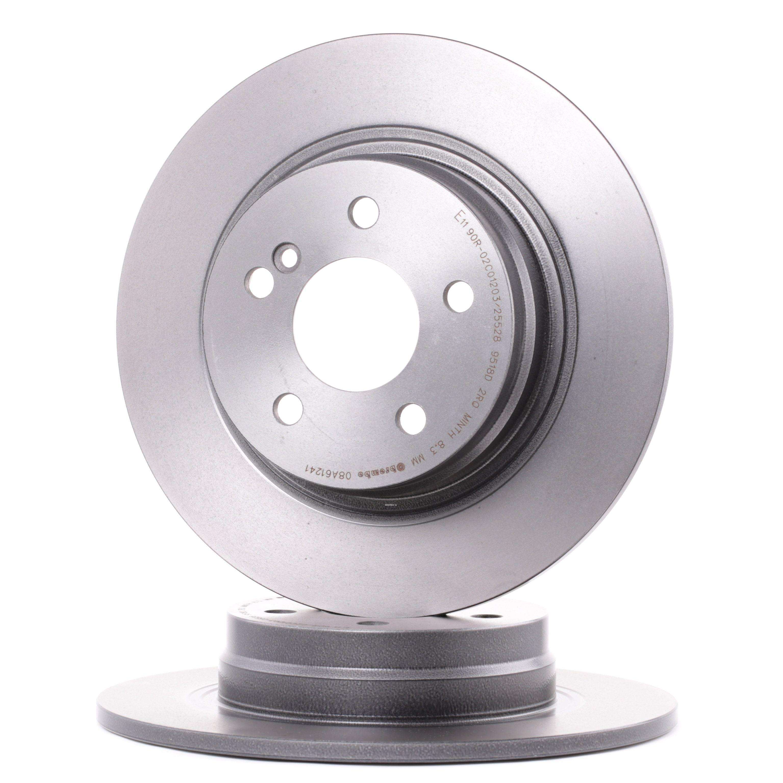 Disco de freno BREMBO 08.A612.41 evaluación