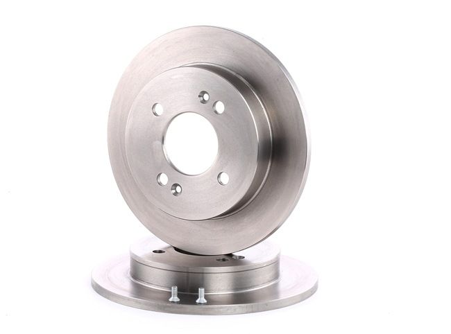 Brake discs and rotors BREMBO 7004569 Solid, with screws