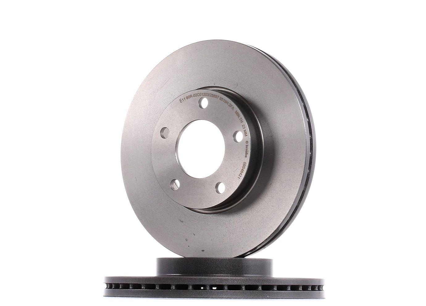 Brake Rotors BREMBO 09.9464.21 rating