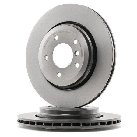 Bremsscheibe Bremsscheibendicke: 22mm, Lochanzahl: 5, Ø: 320mm mit OEM-Nummer 3420 1 166 073