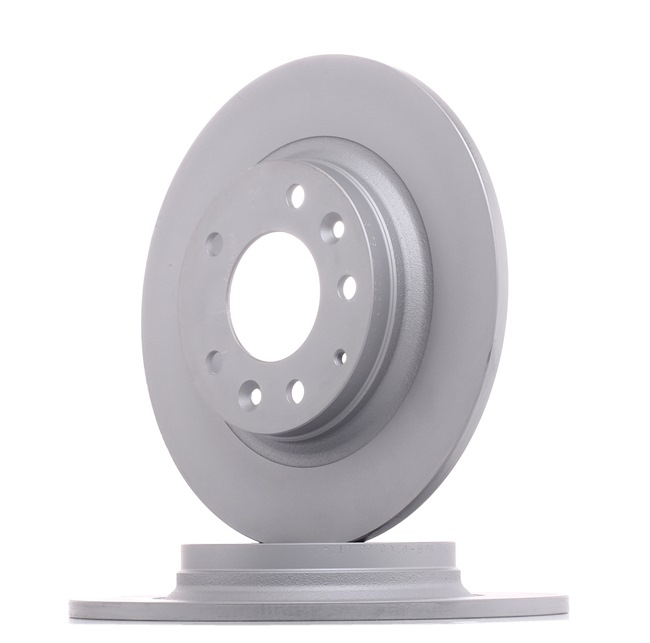 Brake discs and rotors ZIMMERMANN 7010235 Solid, Coated