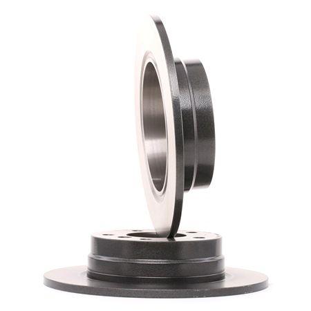 Frenos de disco BREMBO 7010287 Macizo, revestido, con tornillos