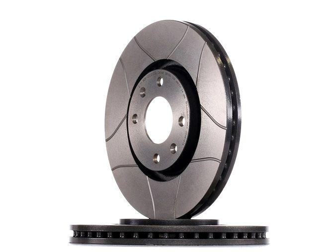 Bremsscheibe Bremsscheibendicke: 26mm, Lochanzahl: 4, Ø: 283mm mit OEM-Nummer 1606401480