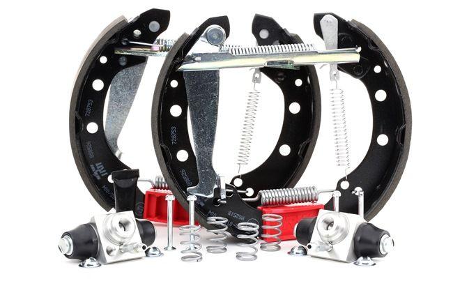 TRW Bremsbelagsatz Trommelbremse mit Radbremszylinder, 40mm, Superkit