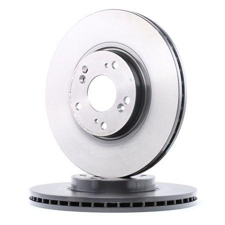 Frenos de disco BREMBO 7011615 Ventilación interna, revestido, con tornillos