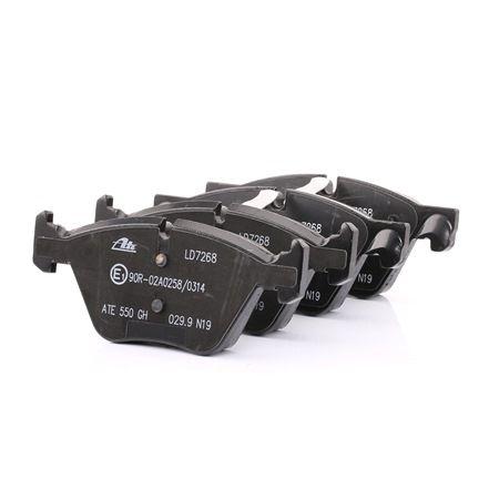 ATE Ceramic Bremsklötze BMW für Verschleißwarnanzeiger vorbereitet, exkl. Verschleißwarnkontakt