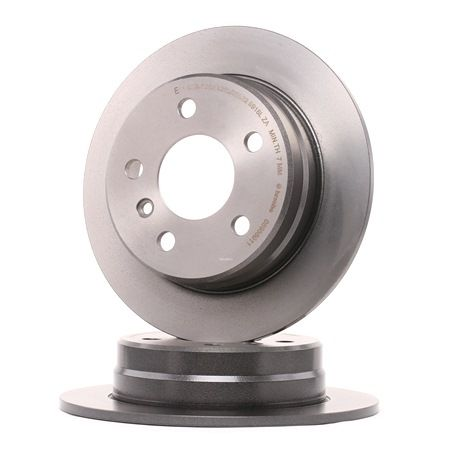 Brake discs and rotors BREMBO 7014303 Solid, Coated, High-carbon, with screws