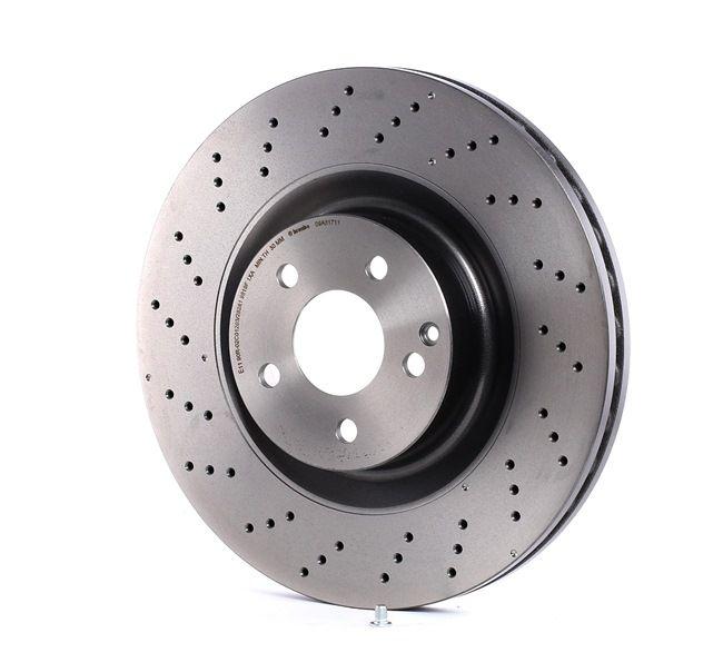BREMBO 09A81711 Disc brake set