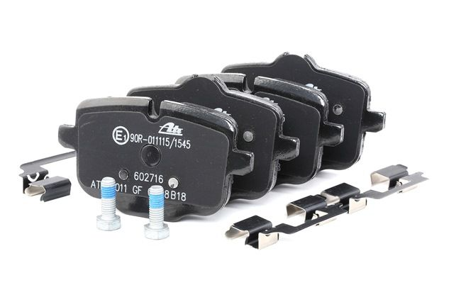 ATE Ceramic Bremsekloss BMW klargjort for slitasjeindikator, ekskl. slitasjevarselkontakt, med bremsecaliperskruer, med tilbehør