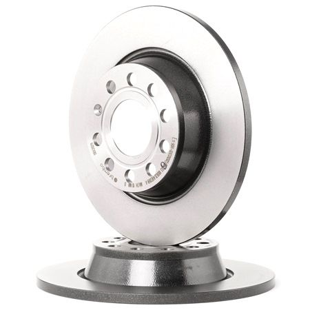 Bremsscheibe Bremsscheibendicke: 12mm, Lochanzahl: 5, Ø: 282mm mit OEM-Nummer 1K0615601AD