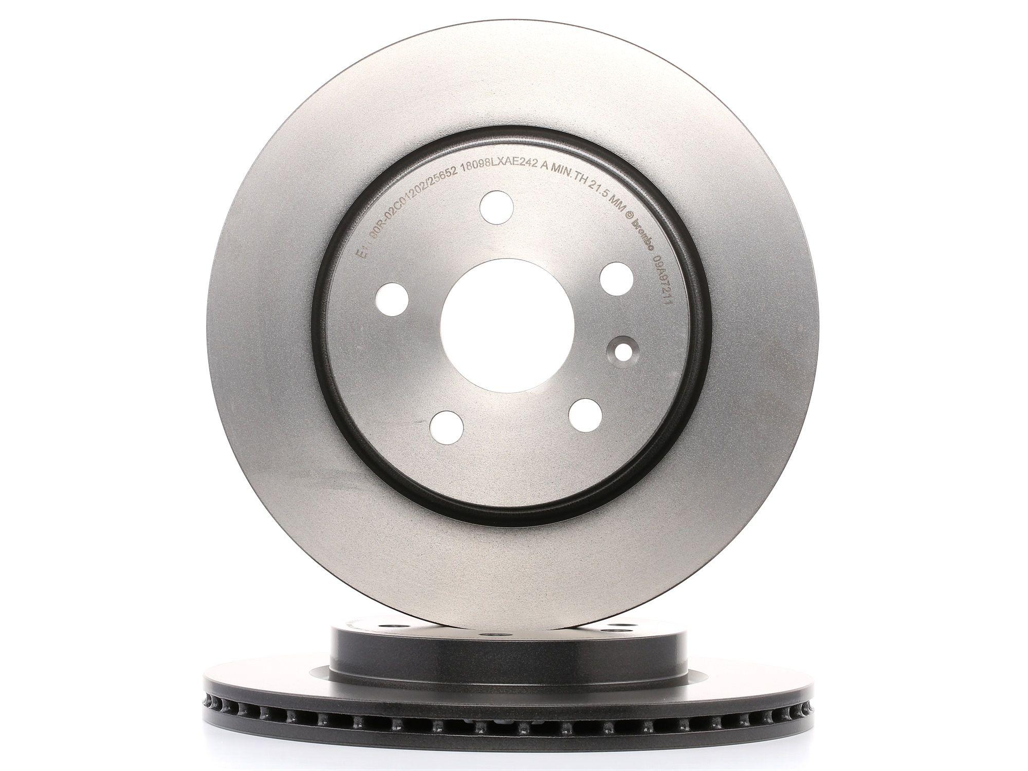 Brake Rotors BREMBO 09.A972.11 rating