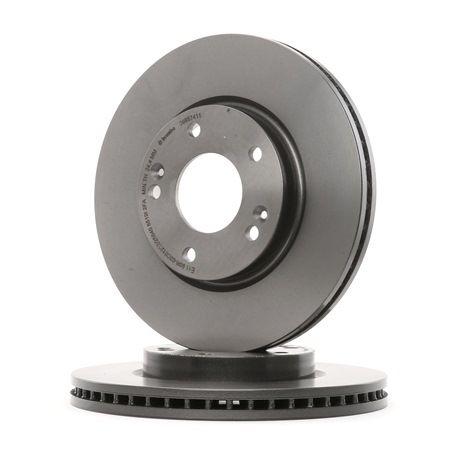 BREMBO 09957411 Disc brake set