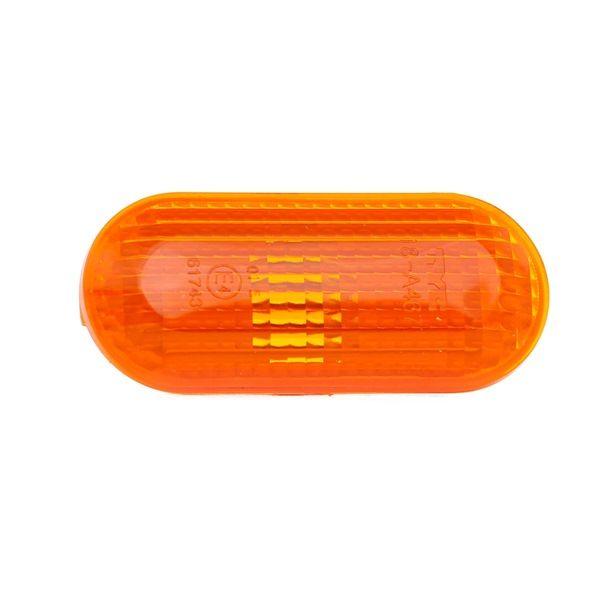 TYC seitlicherEinbau, ohne Lampenträger, orange 180467012