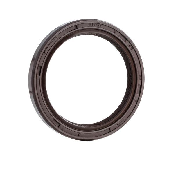 Shaft Seal, crankshaft 733.240 ELRING Timing End, FPM (fluoride rubber) Inner Diameter: 40mm, Ø: 52mm