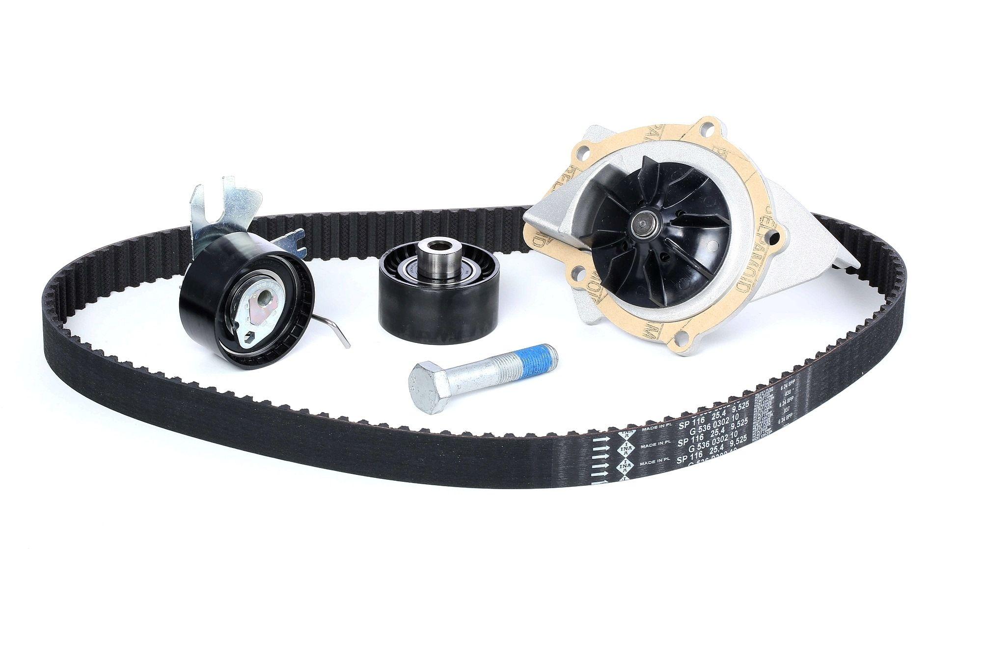 Water Pump + Timing Belt Kit INA 530 0449 30 rating