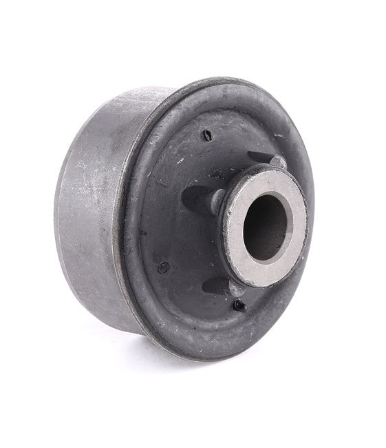 Trailing arm bushing MOOG 7026527 Front Axle, inner, Left and right, Rear