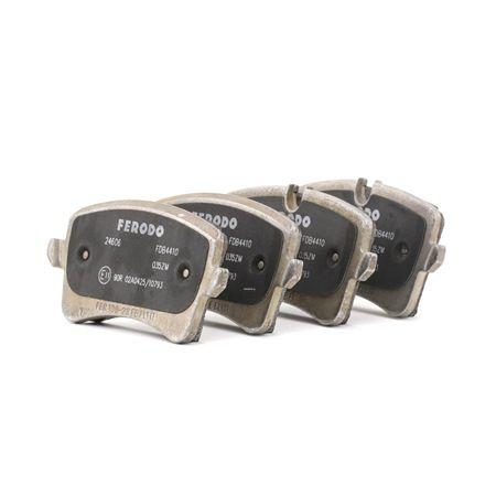 Kit de plaquettes de frein, frein à disque Hauteur 1: 59mm, Hauteur 2: 60,1mm, Épaisseur 1: 17,43mm, Épaisseur: 17,5mm avec OEM numéro 4G0698451H
