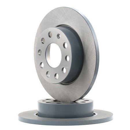Bremsscheibe Bremsscheibendicke: 12mm, Ø: 256,0mm mit OEM-Nummer 1K0615601L