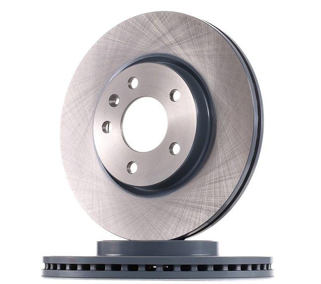 Frenos de disco FEBI BILSTEIN 7109020 Eje delantero, Ventilación interna, revestido
