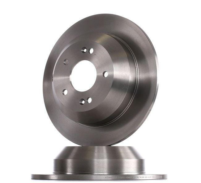 BOSCH 0986479081 Disc brake set