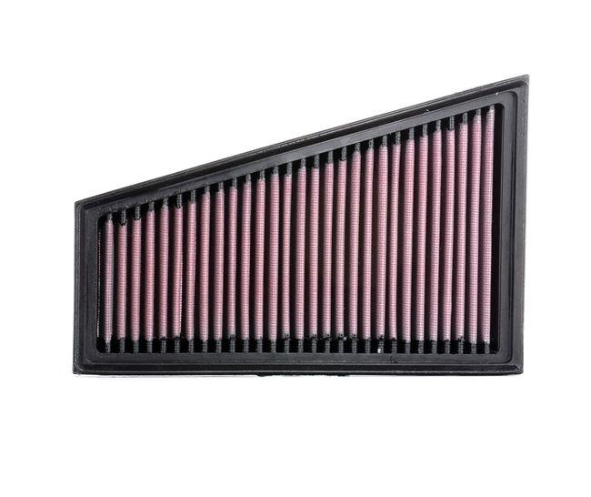 K&N Filters Motorluftfilter MERCEDES-BENZ Langzeitfilter