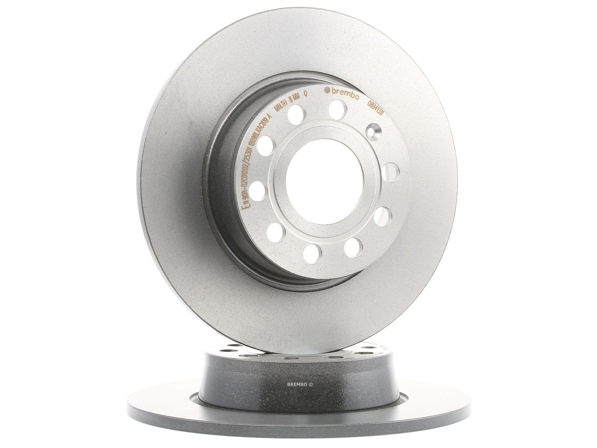 Brake Rotors BREMBO 08.B413.11 rating
