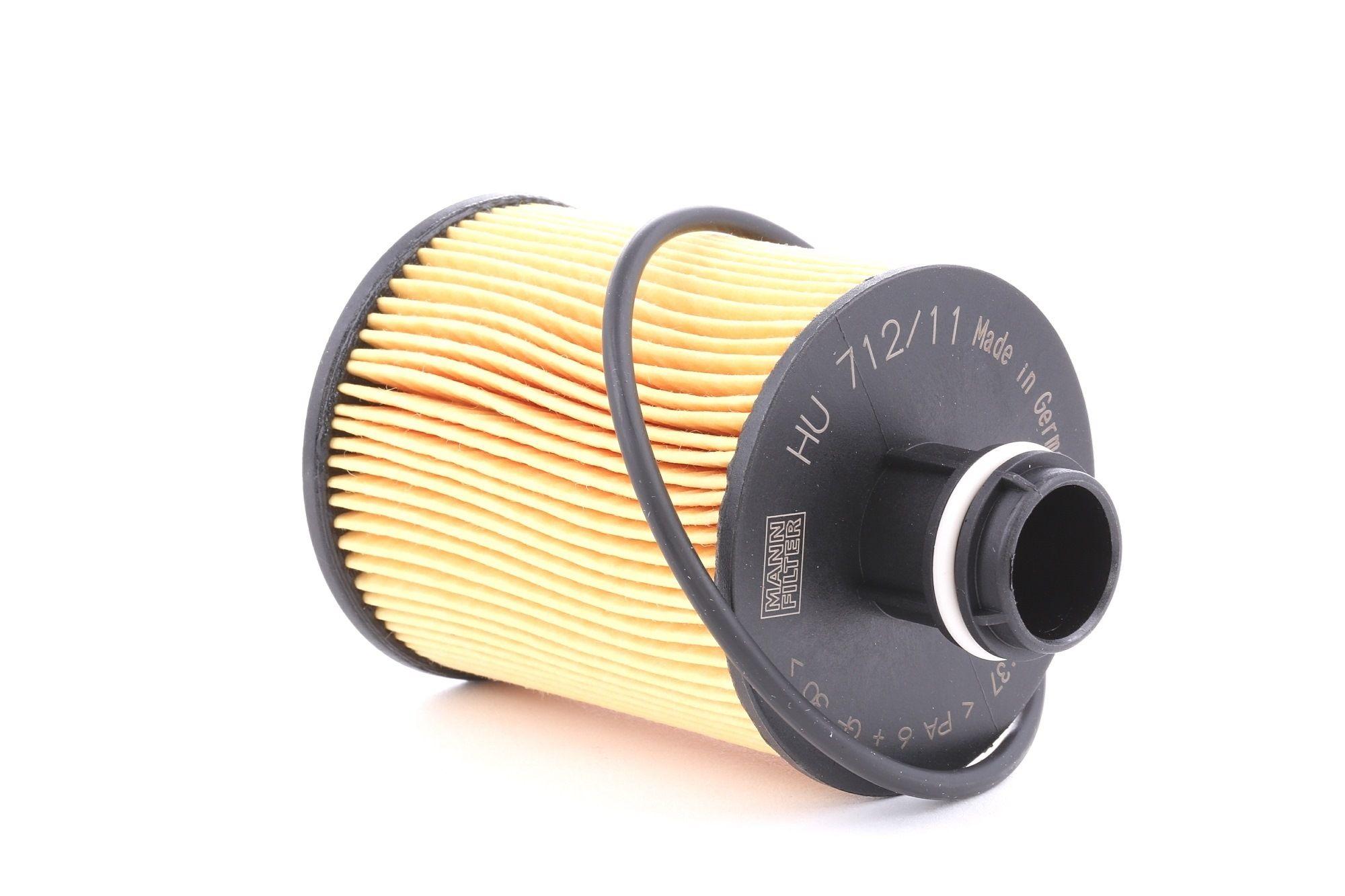 Filtro de aceite motor MANN-FILTER HU 712/11 x evaluación