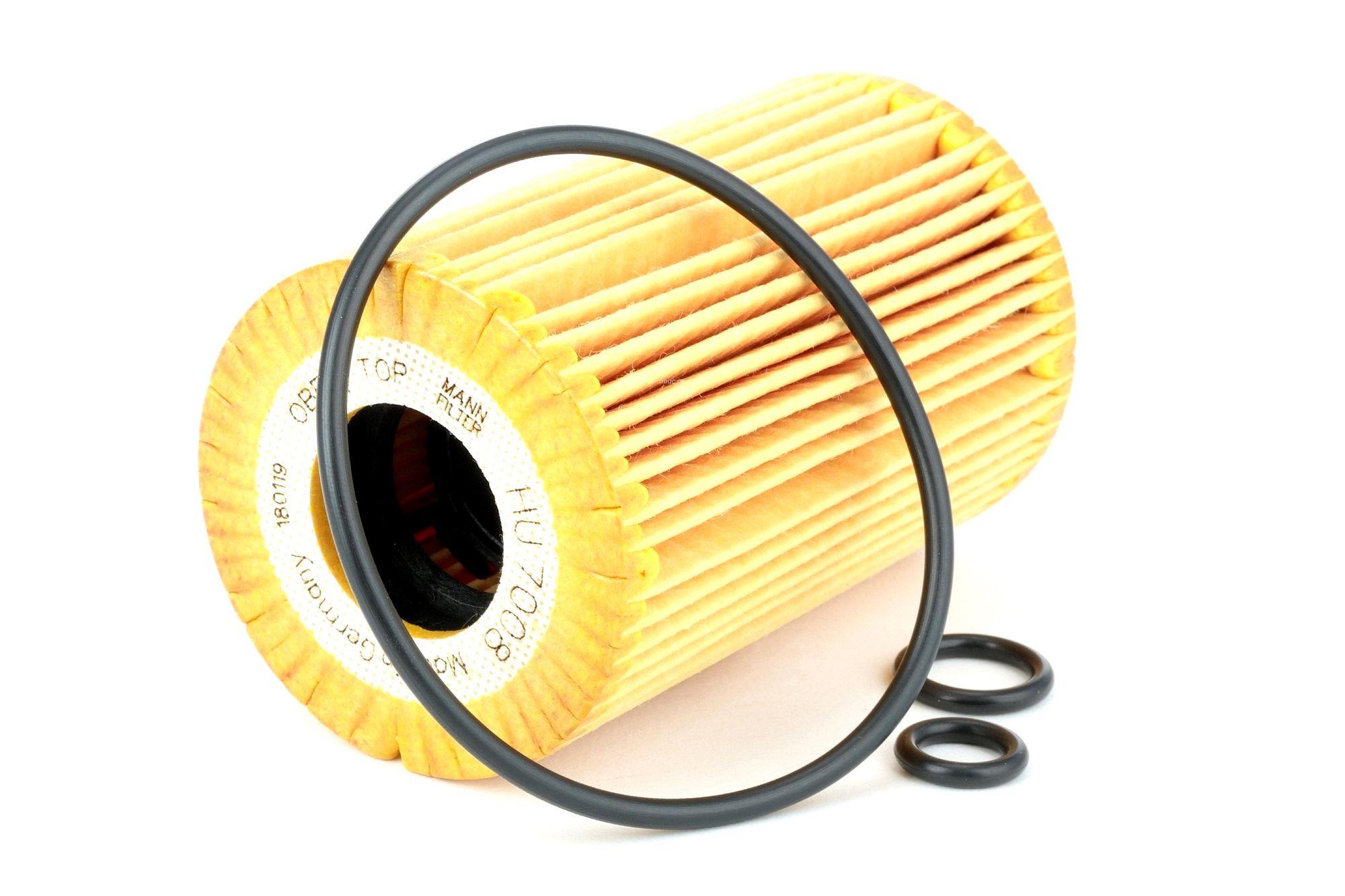 Engine oil filter MANN-FILTER HU 7008 z rating