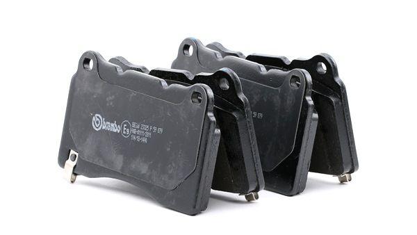BREMBO Bremsklötze CADILLAC mit akustischer Verschleißwarnung