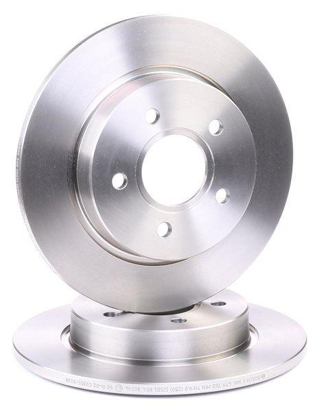 Brake discs and rotors BOSCH E190R02C03550228 Solid, Oiled