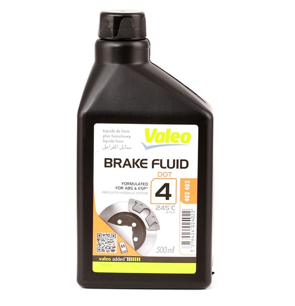 VALEO  402402 Liquido freni Specifica secondo DOT: DOT 4