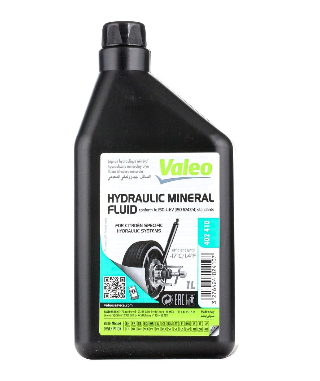 Aciete hidráulica principal VALEO 402410 evaluación