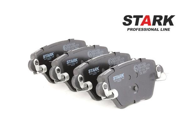 STARK Hinterachse, mit akustischer Verschleißwarnung SKFO1024