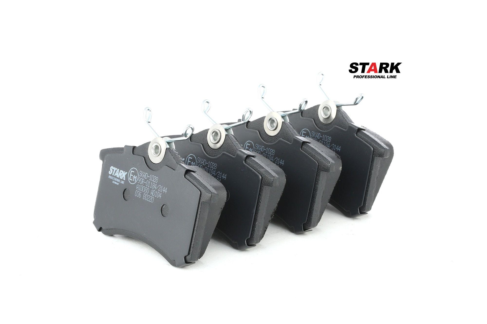 Juego de pastillas de freno STARK SKAD-1028 evaluación