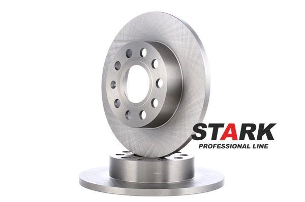 Bremsscheibe Bremsscheibendicke: 12mm, Felge: 5/9-loch, Ø: 256mm mit OEM-Nummer 1K0615601AJ