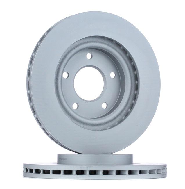 Frenos de disco ATE 426170 ventilado, revestido