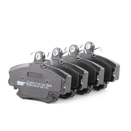 Bremsbelagsatz, Scheibenbremse Höhe: 65mm, Dicke/Stärke: 18mm mit OEM-Nummer 7701 201 773