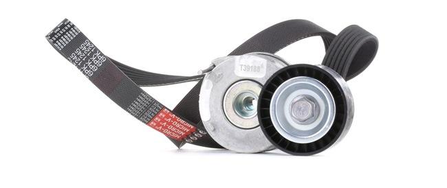 Poly v-belt kit GATES T39188 FleetRunner™ Micro-V® Stretch Fit®