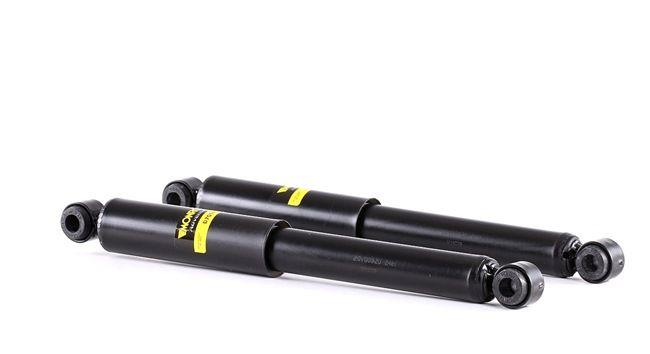 Amortiguador MONROE 7436030 Bitubular, Presión de gas, Amortiguador sin muelle de tope, Anillo superior, Anillo inferior