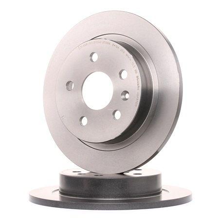 BREMBO 08A97011 Disc brake set