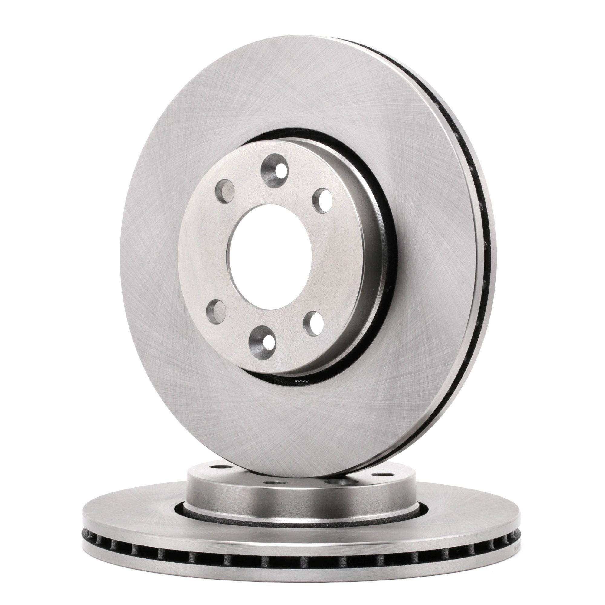 Brake Rotors FERODO DDF1201C rating