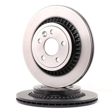 Brake discs and rotors TRW 7489026 Vented, Painted