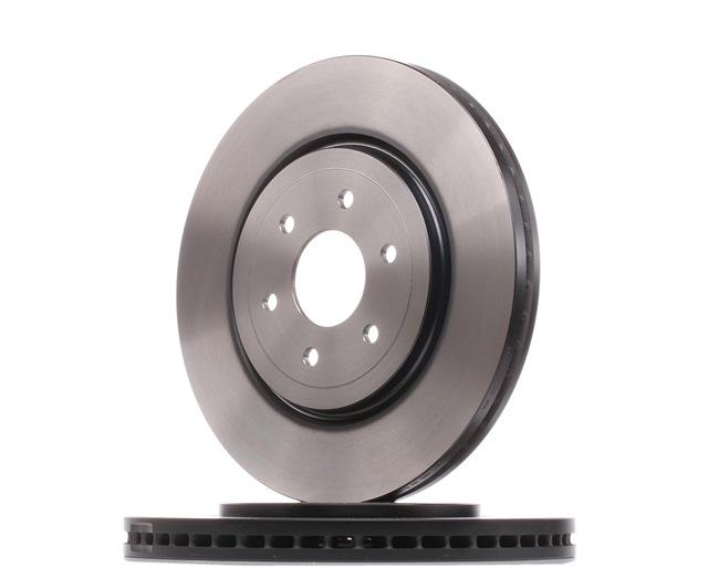 Bremsscheibe Bremsscheibendicke: 28mm, Lochanzahl: 6, Ø: 319mm mit OEM-Nummer 402063X00B