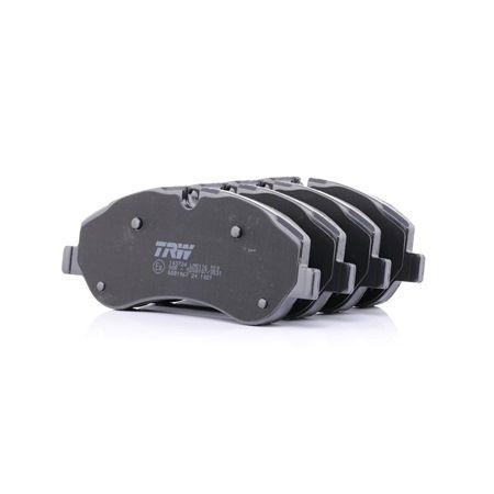 Disk brake pads TRW 25602 COTEC, incl. wear warning contact