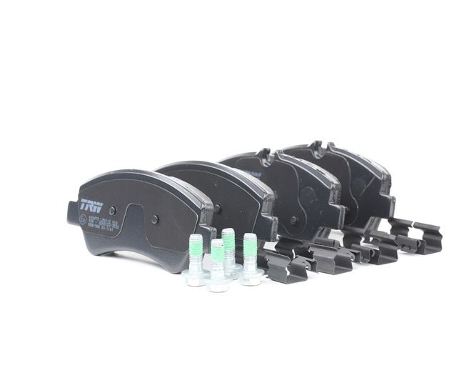 Disk brake pads TRW 25604 prepared for wear indicator