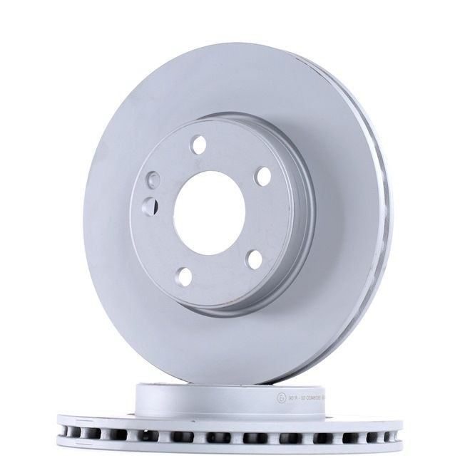 Brake discs and rotors BOSCH BD1687 Vented, Coated, High-carbon, with screws